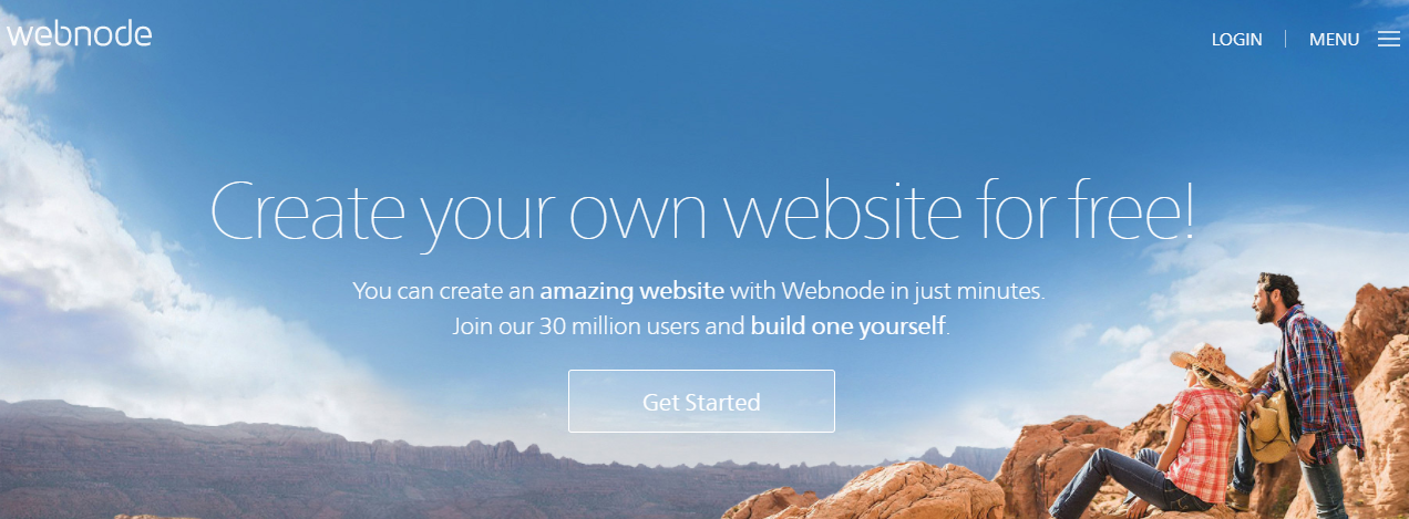 Webnode website builder