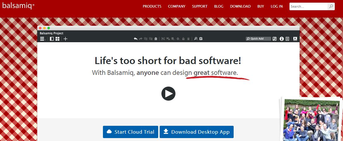 Balsamiq - Best Web Design Software