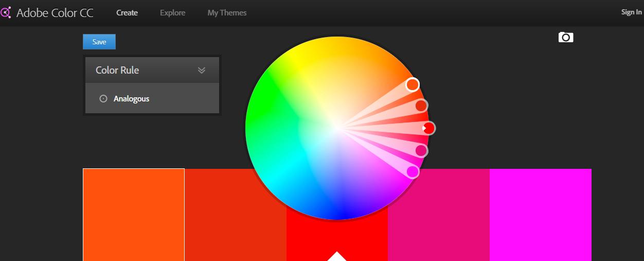 Color Wheel - Best Web Design Software