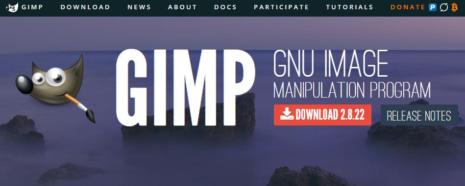 Gimp - Best Web Design Software