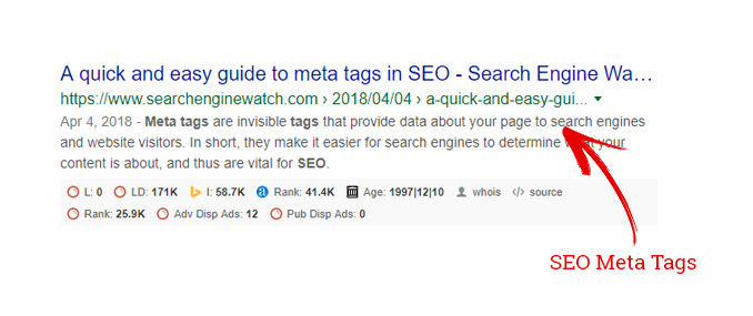 The Ultimate Guide to SEO Meta Tags : Search Engine Magazine