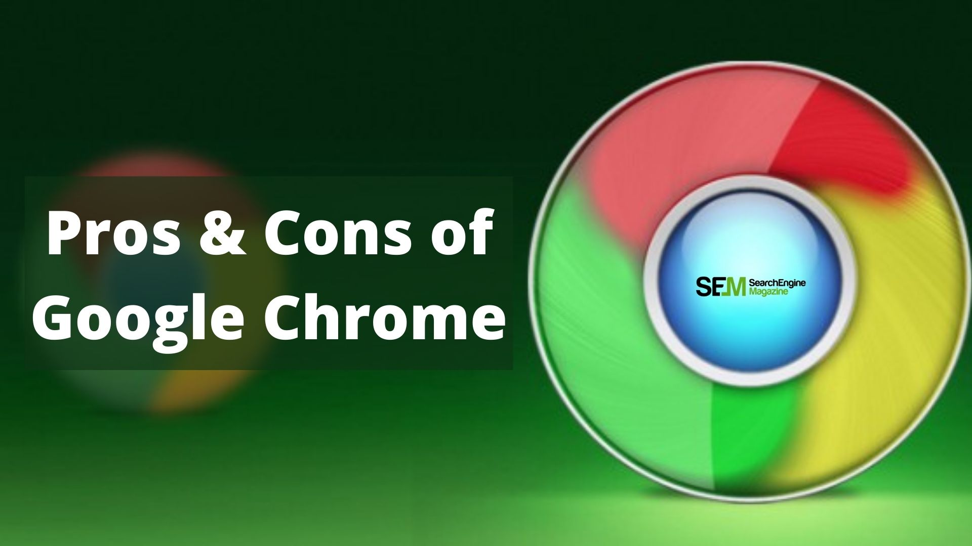 pros and cons of google chrome