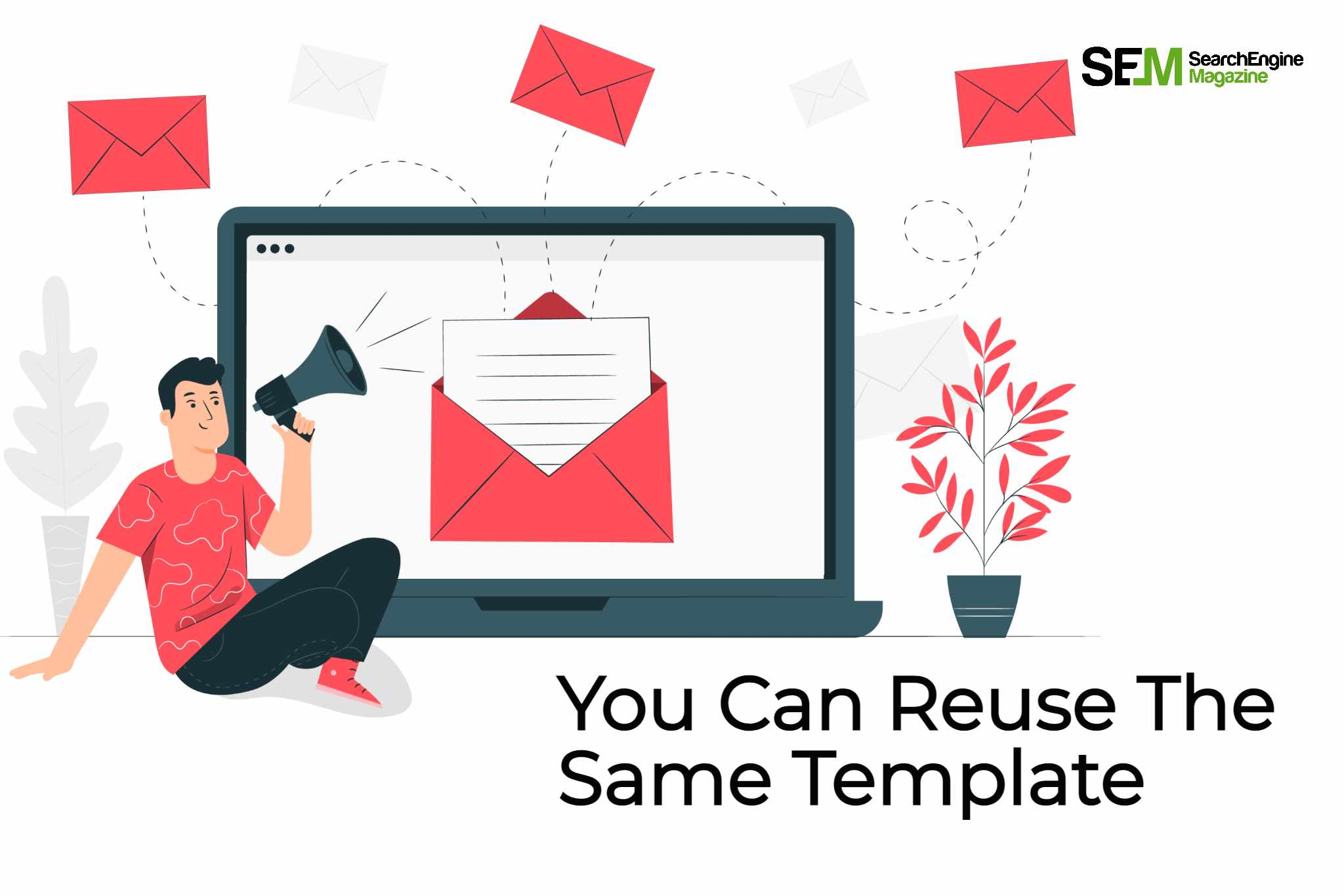 What is one of the benefits of using templates for your email marketing campaigns?