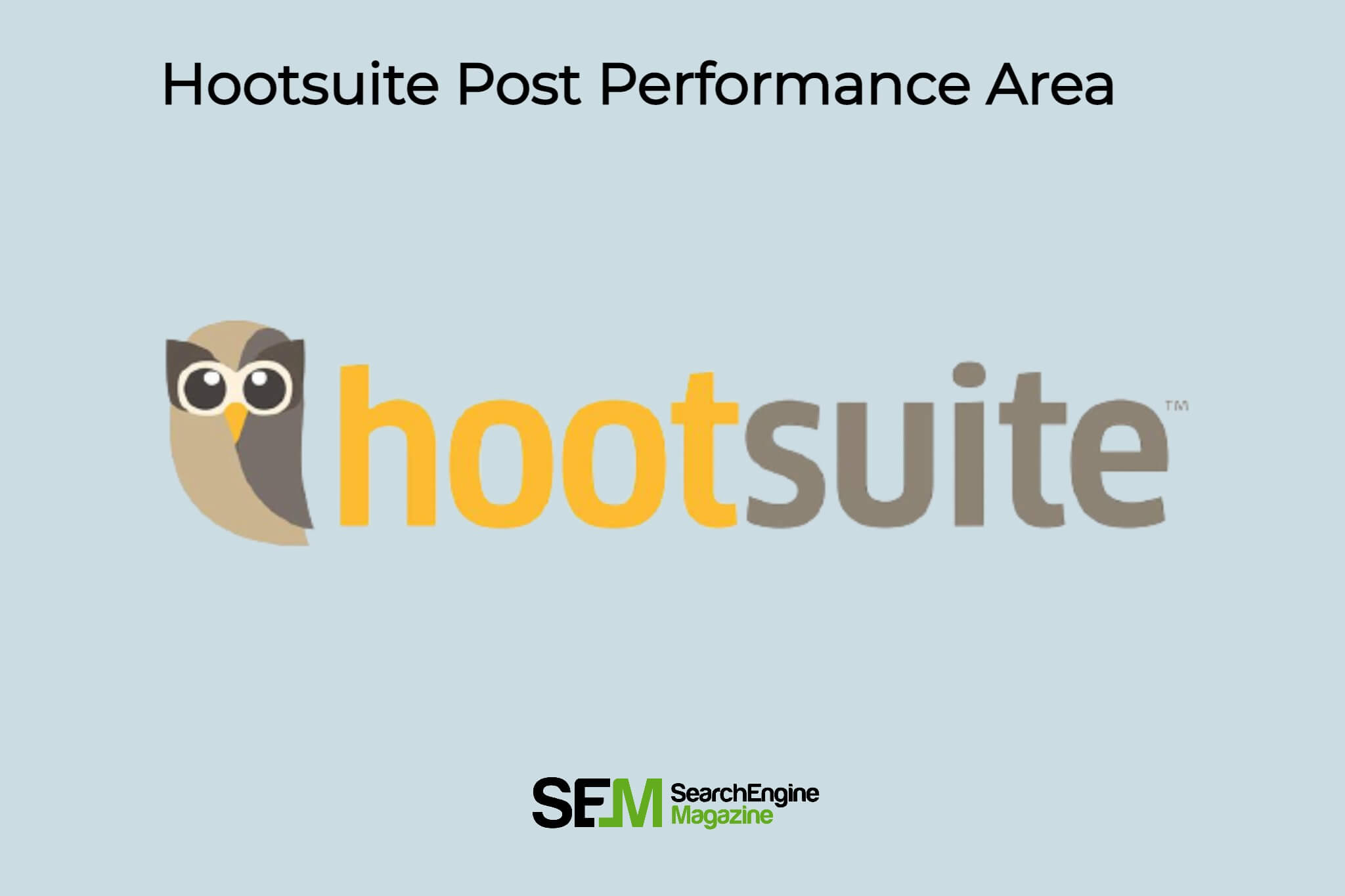 A benefit of using the post performance area within hootsuite analytics is that it shows
